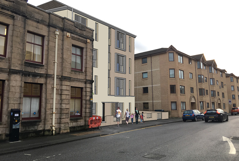 New Flatted Development – Albany Street, Oban