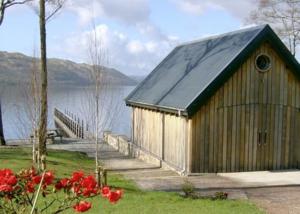 Boathouse/jetty, Lochawe