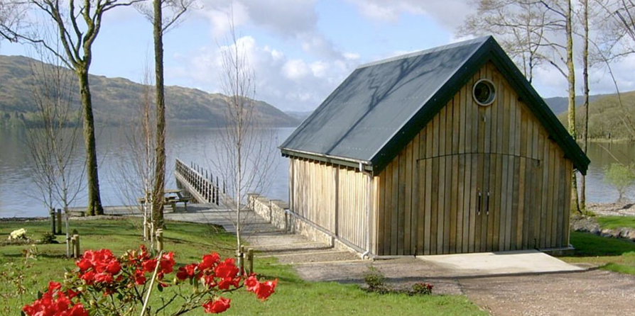 Boathouse/jetty, Lochawe