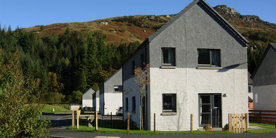 Affordable Housing, Lochgoilhead For Dunbritton HA And Argyll Community HA