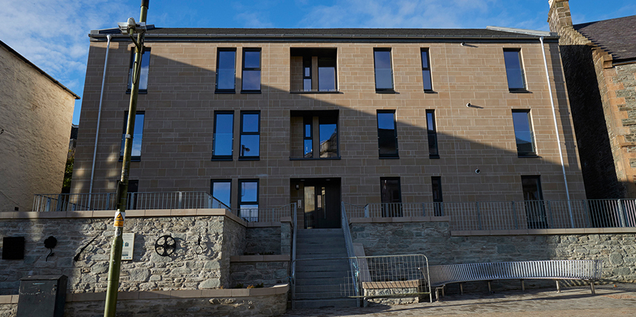 Affordable Housing St Cuthberts Dunoon For Fyne Homes