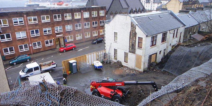 New Build Affordable Flats begins on-site at Albany Street, Oban