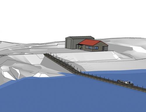 Marine Harvest Ltd, New Shore Base Facility and pontoon, Isle of Rum